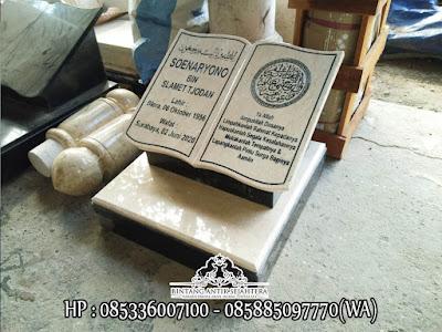 Batu Nisan Marmer, Batu Nisan Kepala Marmer, Bentuk Batu Nisan Islam
