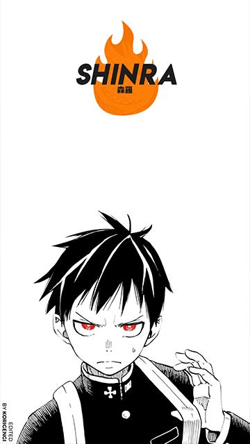Shinra Kusakabe - Fire Force Wallpaper