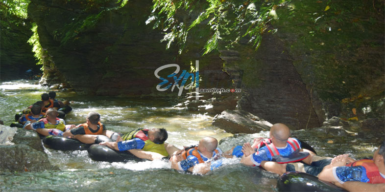 Santirah River Tubing Pangandaran