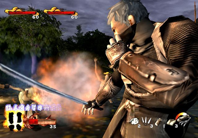 Tenchu Wrath of Heaven PS2 GAME ISO Screenshot 1