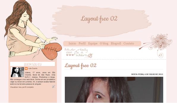 Layouts grátispara blogs