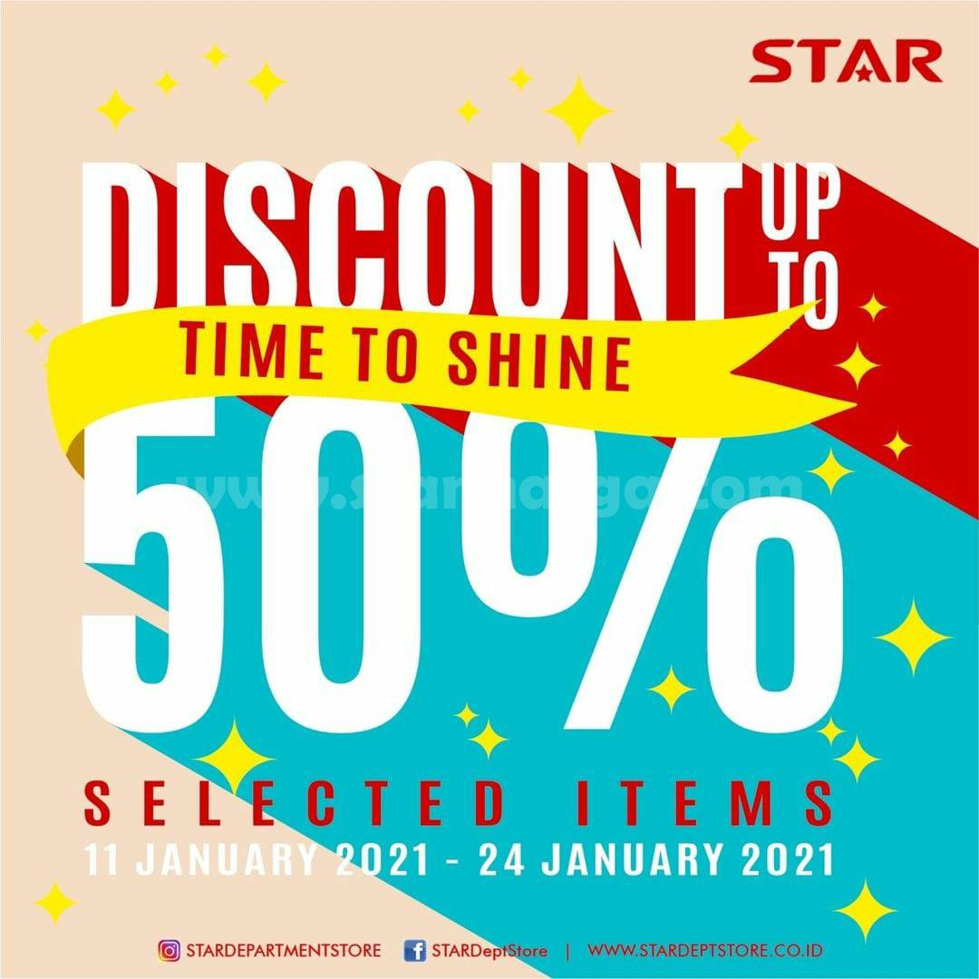 Promo STAR Department Store SALE Up To 50% Off