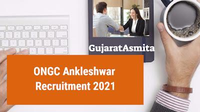ONGC Ankleshwar Recruitment 2021 For GDMO
