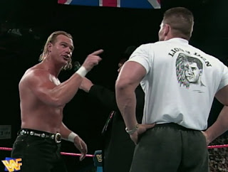 WWE / WWF - One Night Only 1997 - Billy Gunn confronts Ken Shamrock