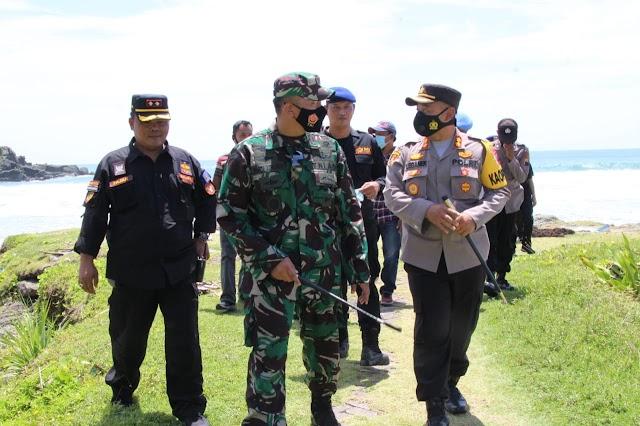 Jalin Sinergitas, Dandim 0703/Cilacap dan Kapolres Kunjungi Lapas Nusakambangan