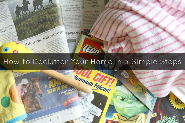 How to Declutter Your Home in 5 Simple Steps