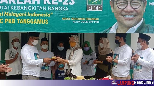 PKB Tanggamus Bagikan 300 Paket Daging Qurban Untuk Masyarakat