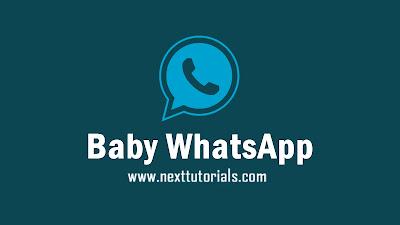 Baby WhatsApp v6.0 APk Download Latest Version 2020,baby wa v6.0 anti-ban,aplikasi baby whatsapp update,tema wa mod keren terbaru 2020,