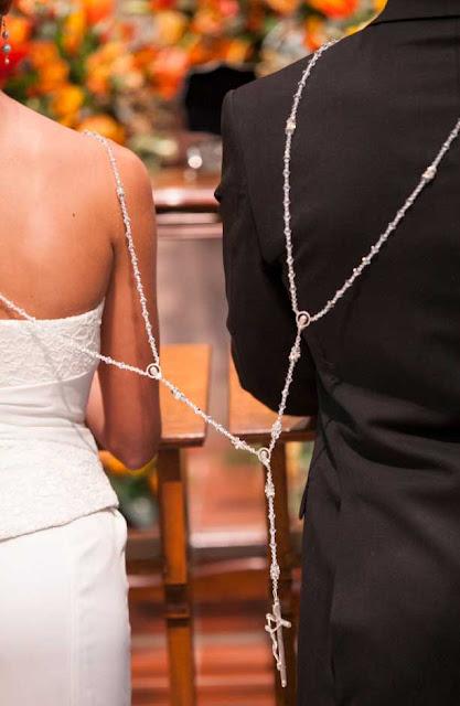 casamento hispanico rosário, cerimonia do laço