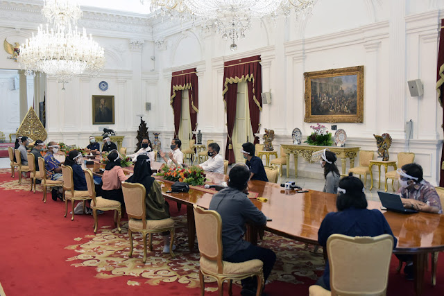 Presiden: Pemerintah Sedang Persiapkan Regulasi Sanksi Pelanggaran Protokol Kesehatan