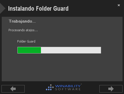 Folder Guard Español