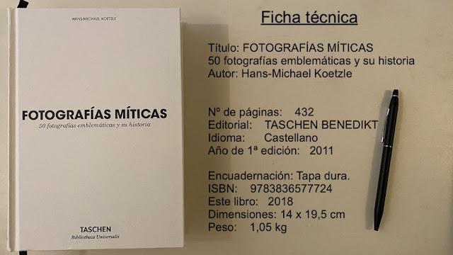 Libro Fotografias Miticas