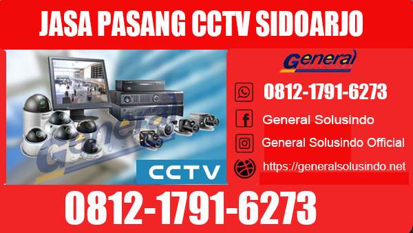 Jasa Pasang CCTV Buduran Sidoarjo