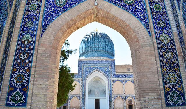 Ruta viaje a Uzbekistan