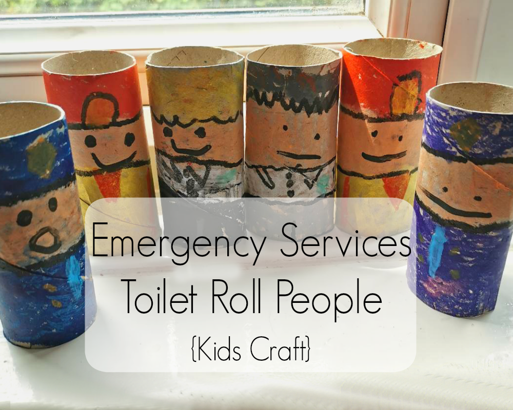 Emergency Services Toilet Roll People - Kids Craft