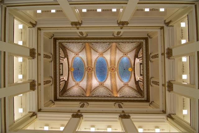 Boveda de mosaico de Tiffany - Macy's Chicago