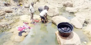 Jenta Of The Gully: Jos Communities Where Residents Dip In Dirty, Smelly Waters To Come Out Clean