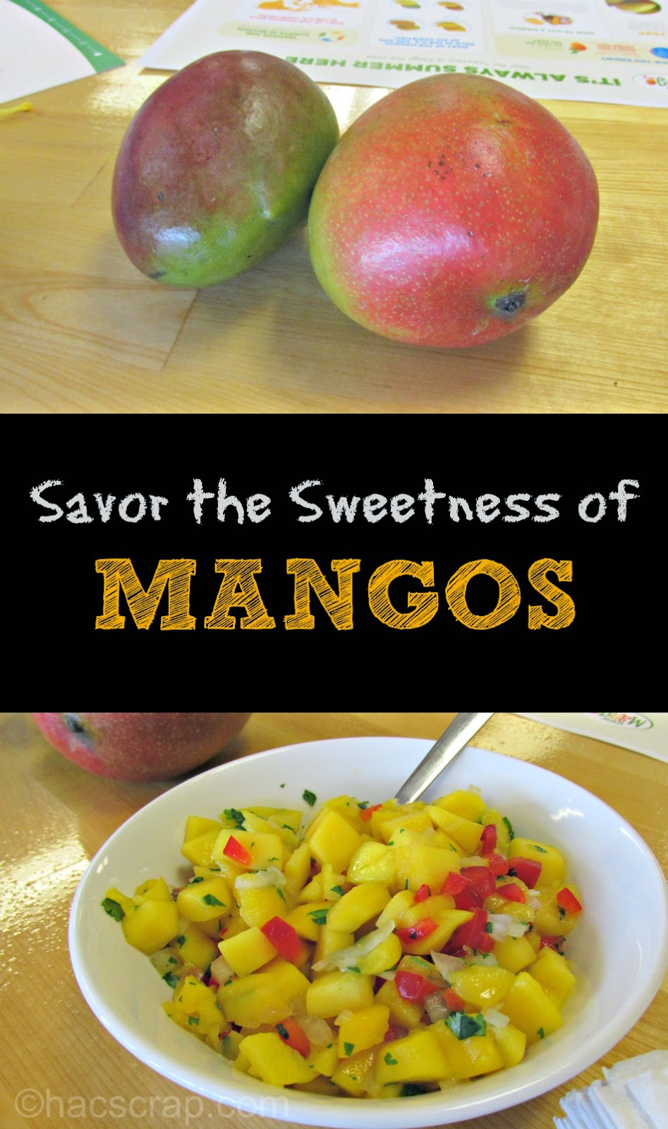 Enjoy Mangos all year round with tips for selecting, storing and eating #MakeitMango
