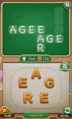 Word Blocks Level 116 117 118 119 120 Answers