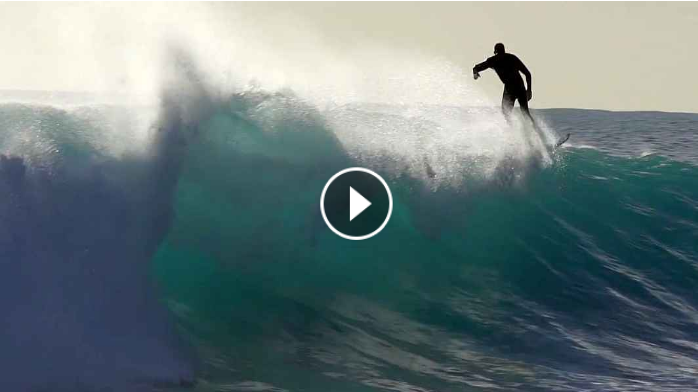 Beautiful Backlit Surfing - Single Sessions