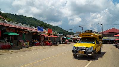 Mae Salong town center