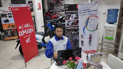 Webinar Edukasi Safety Riding Honda Kalbar Bersama Komunitas Honda