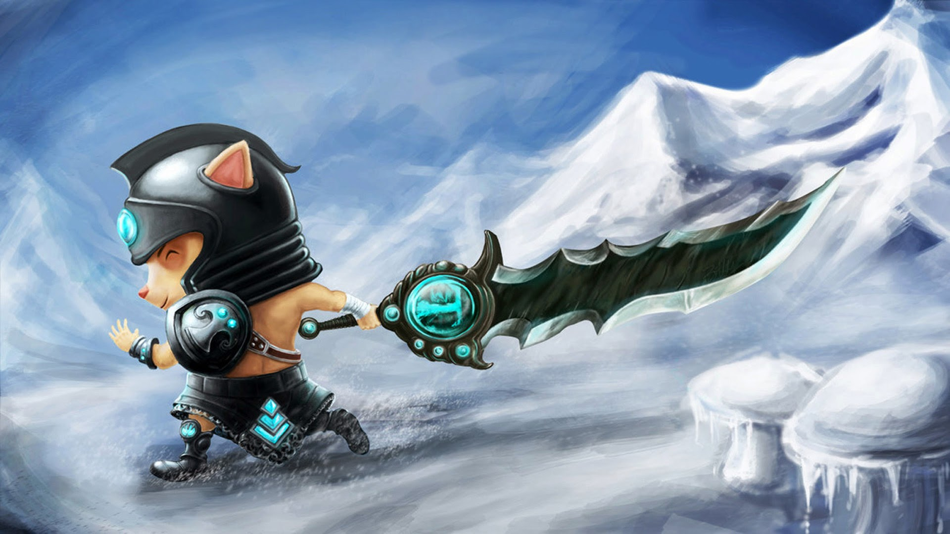 Teemo Tryndamere League of Legends h7 Wallpaper HD