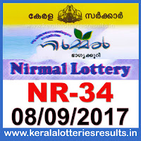 keralalotteries, kerala lottery, keralalotteryresult, kerala lottery result, kerala lottery result live, kerala lottery results, kerala lottery today, kerala lottery result today, kerala lottery results today, today kerala lottery result, kerala lottery result 08.09.2017 nirmal lottery nr 34, nirmal lottery, nirmal lottery today result, nirmal lottery result yesterday, nirmal lottery nr34, nirmal lottery 8.9.2017, 8-9-2017 kerala result