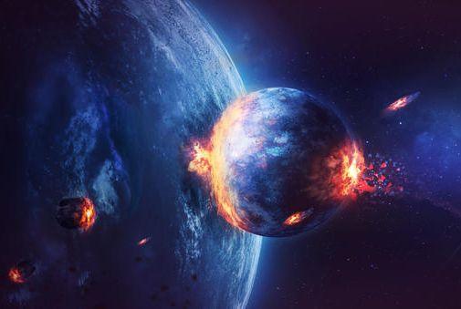 Residuo di un protopianeta potrebbe nascondersi all'interno della Terra