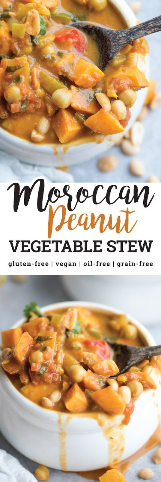 vegan sweet potato peanut stew