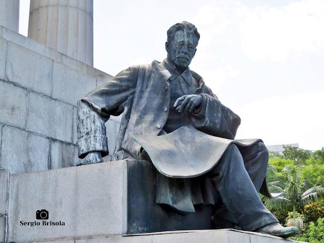 Escultura Ramos de Azevedo - Monumento a Ramos de Azevedo
