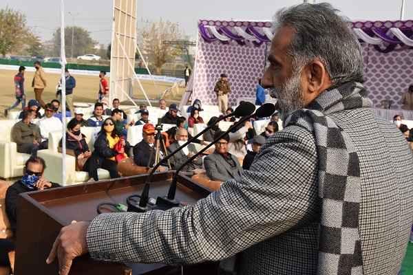 minister-krishanpal-gurjar-praised-faridabad-sportsman-news