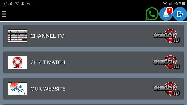تحميل الاصدار الاخير من تطبيق amigo tv apk  لمشاهدة القنوات العربية المشفرة دون تقطيع 2020
