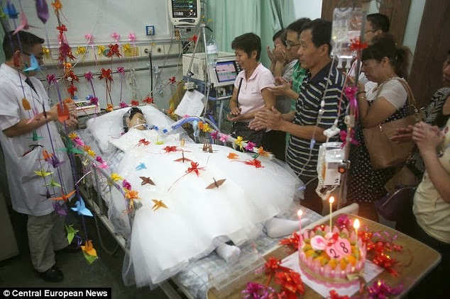 wife die after coma