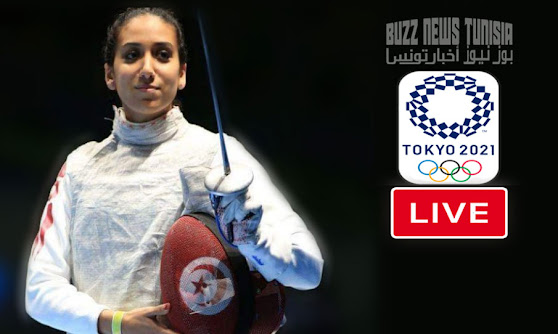 Watch Match Live Ines Boubakri vs Larisa Korobeynikova Foil Individual Fencing Olympic Games Tokyo 2020