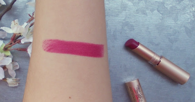 Catrice LE Victorian Poetry review swatches Berry British satin matt lip color