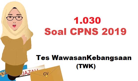 1030 Contoh Soal Cpns Twk Hots Jawabannya Pdf Informasi Pendidikan