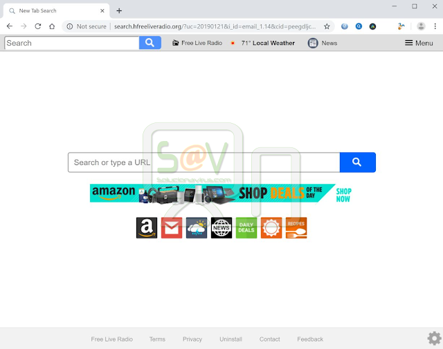 Search.hfreeliveradio.org (Hijacker)