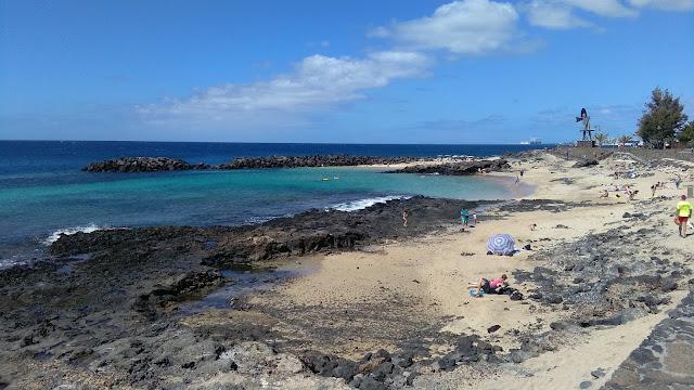 Playa del Jablillo en Costa Teguise - Lanzarote