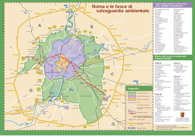 cartina mappa fascia verde roma v municipio