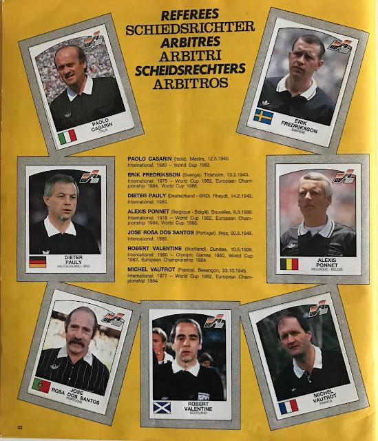 Figurine Arbitri Euro 88