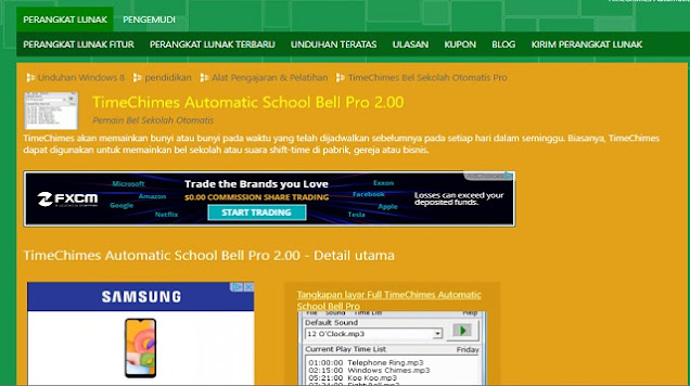 Aplikasi Bel Sekolah