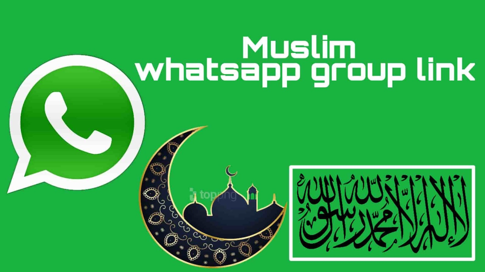 100+(active) Muslim Whatsapp group link 2019