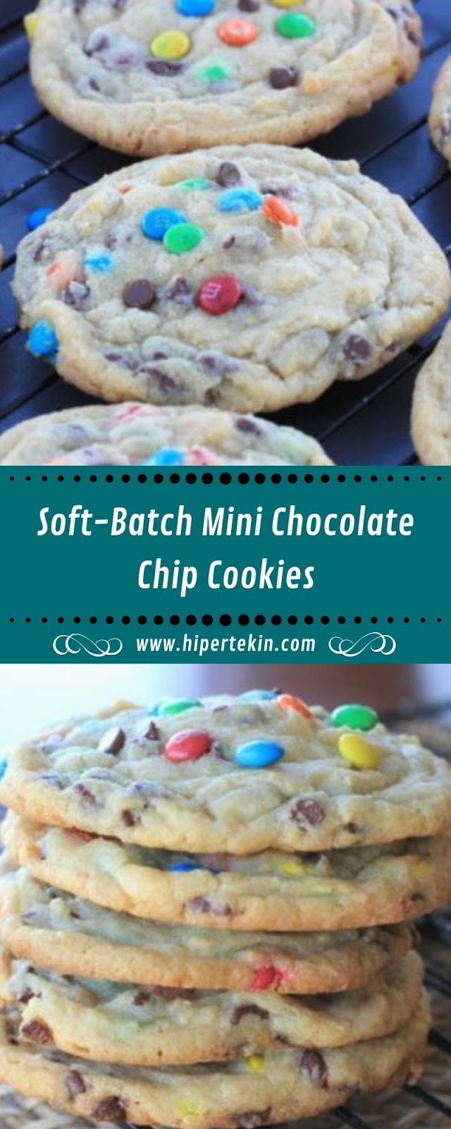 Soft-Batch Mini Chocolate Chip Cookies