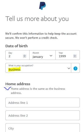 tutorial for paypal business account