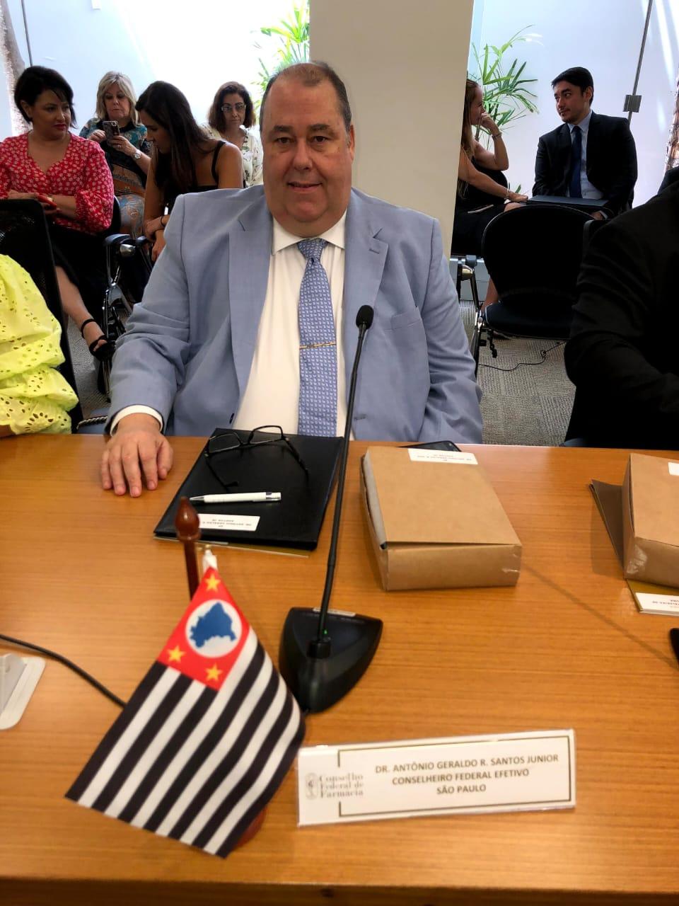 Novo Conselheiro Federal de Farmácia é de São João da Boa Vista