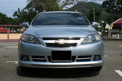 Eksterior Chevrolet Estate Magnum Tampak Depan