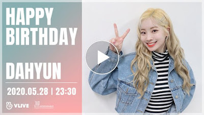 Twice Dahyun Birthday Vlive
