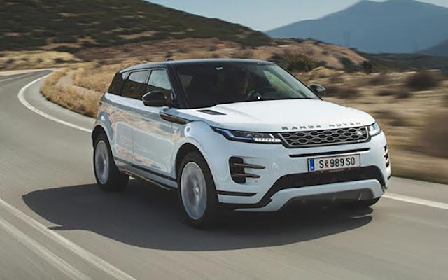 Range Rover Evoque phiên bản 2020 với nhiều cải tiến rất đáng đầu tư