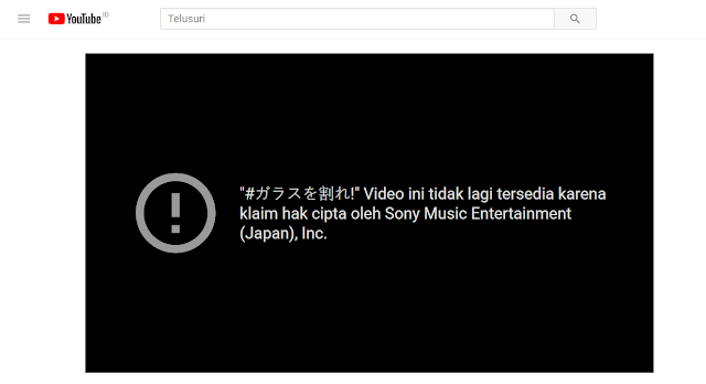 Sony Music Entertainment Japan YouTube Keyakizaka46 MV.png